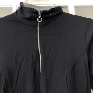 Sportswear top. Nils Nylon Zip up